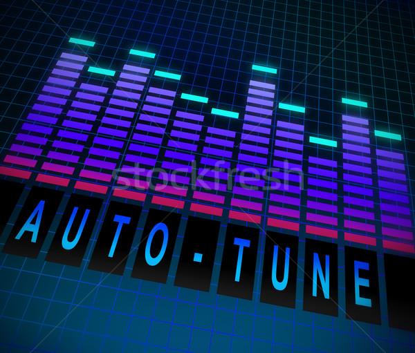 Auto-tune concept. Stock photo © 72soul