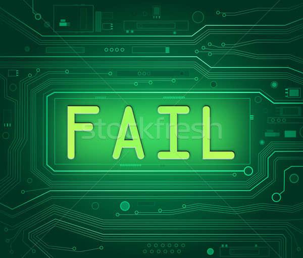Technical fail concept. Stock photo © 72soul