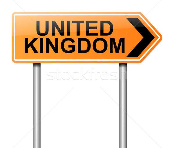 Regno Unito segno illustrazione strada sfondo Foto d'archivio © 72soul