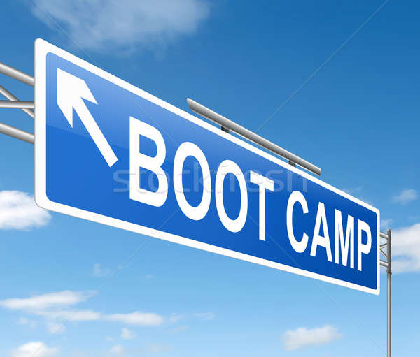 Boot camp concept. Stock photo © 72soul
