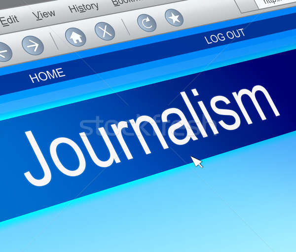 Journalism concept; Stock photo © 72soul