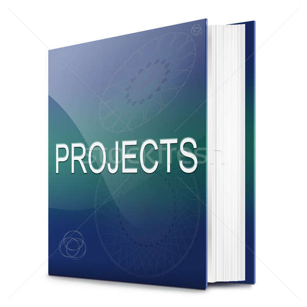 Project book concept. Stock photo © 72soul