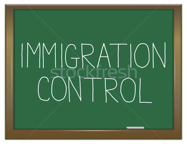Immigration control concept. Stock photo © 72soul