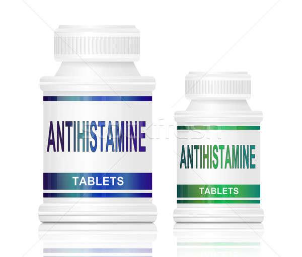 Antihistamine medication. Stock photo © 72soul
