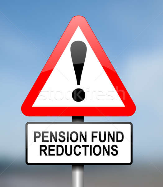 Pension fund disappointment. Stock photo © 72soul