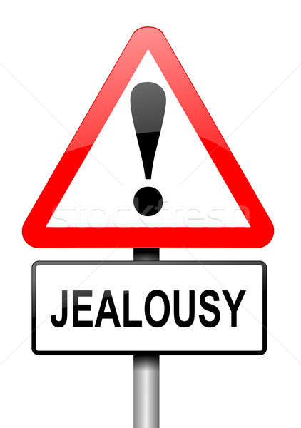Jealousy concept. Stock photo © 72soul