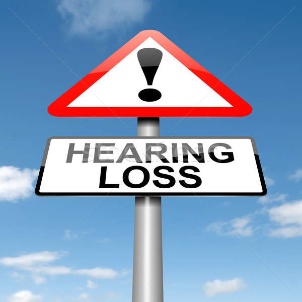 Hearing loss concept. Stock photo © 72soul