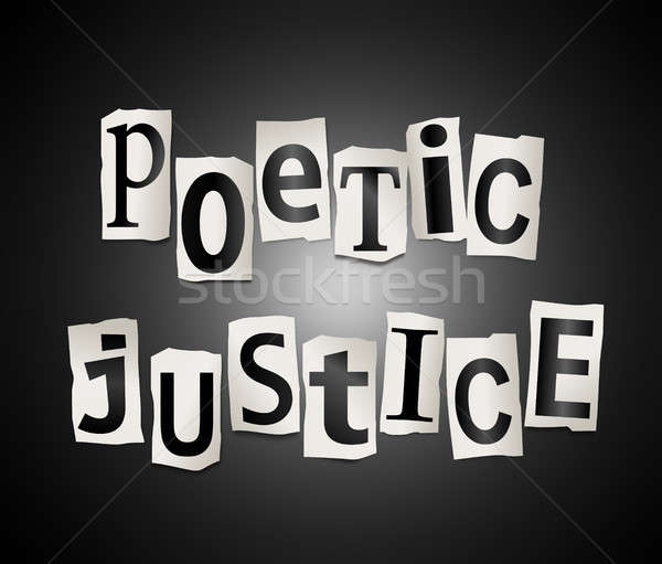 Poetic justice concept. Stock photo © 72soul