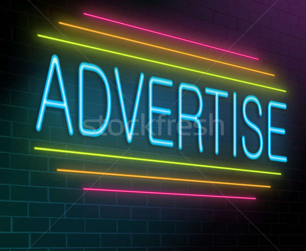 Advertise concept. Stock photo © 72soul