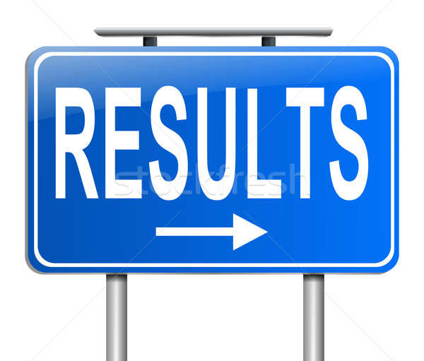 Results concept. Stock photo © 72soul