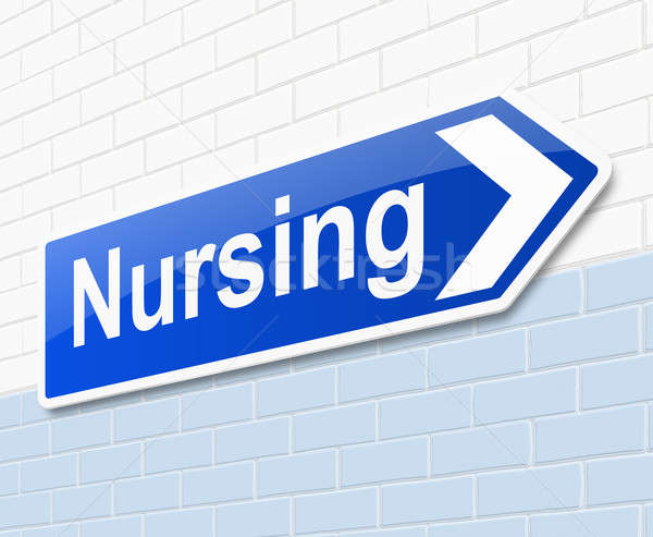 Nursing concept. Stock photo © 72soul