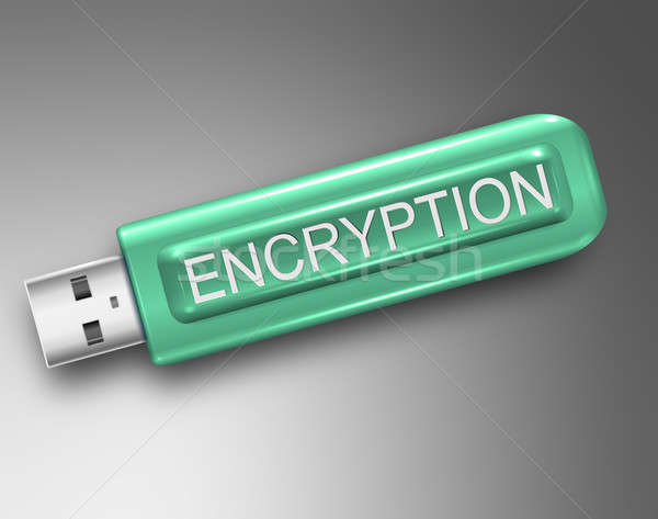 Encryption concept. Stock photo © 72soul