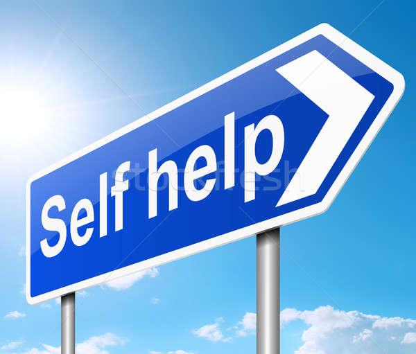 Self help concept. Stock photo © 72soul