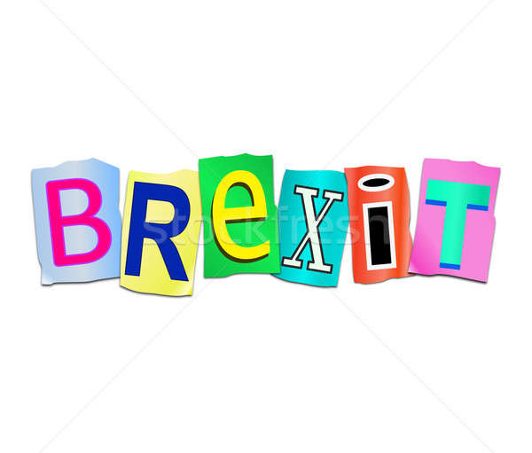 Brexit word concept. Stock photo © 72soul
