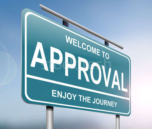 Approval sign concept. Stock photo © 72soul