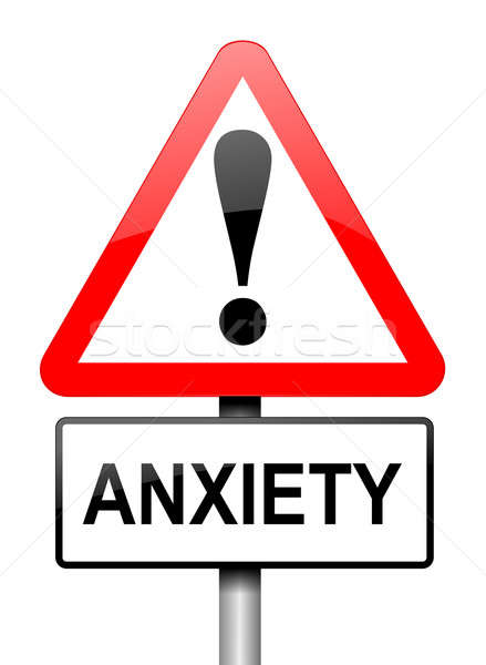 Anxiety warning. Stock photo © 72soul