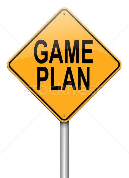 Game plan concept. Stock photo © 72soul