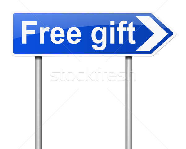 Free gift concept. Stock photo © 72soul