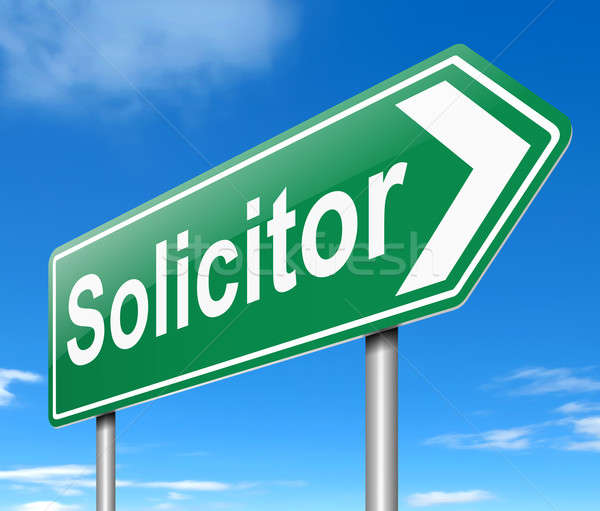 Solicitor concept. Stock photo © 72soul