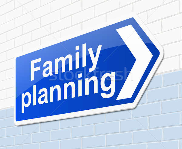 Family planning concept. Stock photo © 72soul
