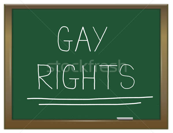Gay rights concept. Stock photo © 72soul