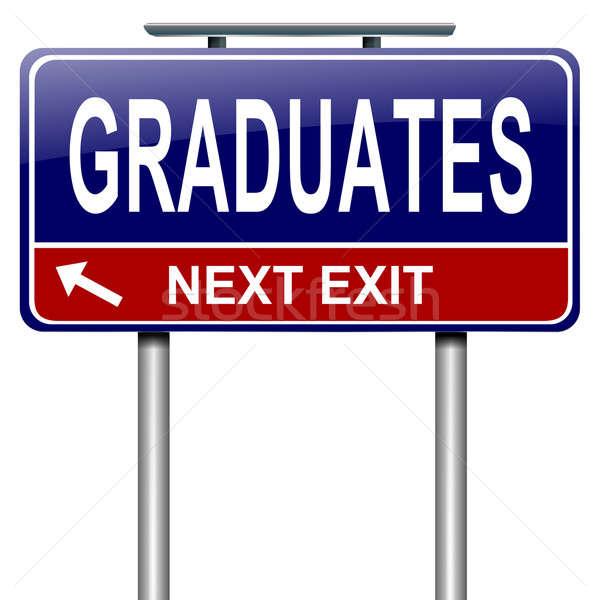 Graduates concept. Stock photo © 72soul