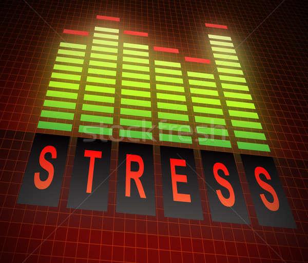 Stress levels concept. Stock photo © 72soul