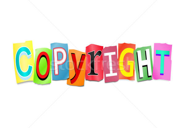 Copyright concept. Stock photo © 72soul