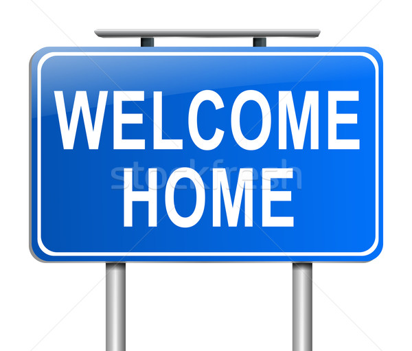 Welcome home concept. Stock photo © 72soul