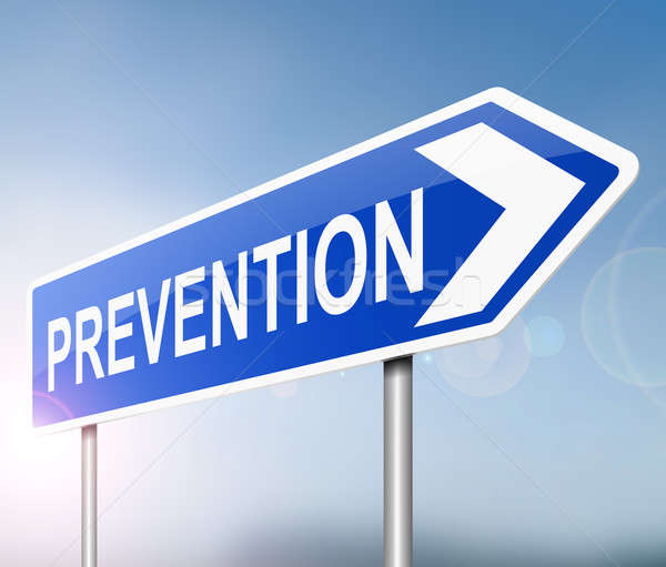 Prevention sign concept. Stock photo © 72soul