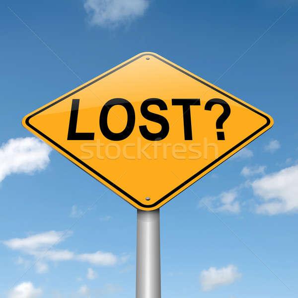Lost concept. Stock photo © 72soul
