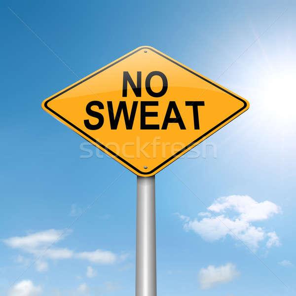 No sweat concept. Stock photo © 72soul