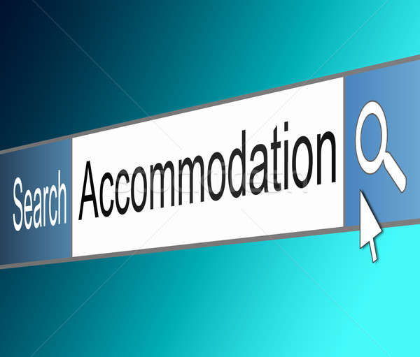 Accommodation search. Stock photo © 72soul