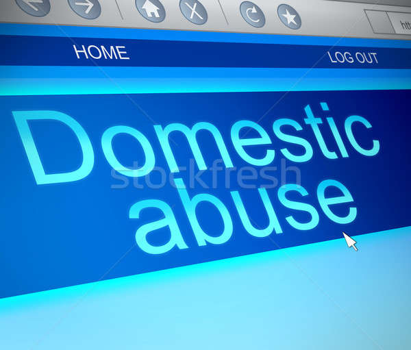 Domestic abuse. Stock photo © 72soul