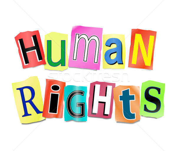 Human rights concept. Stock photo © 72soul