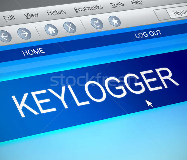 Keylogger concept. Stock photo © 72soul