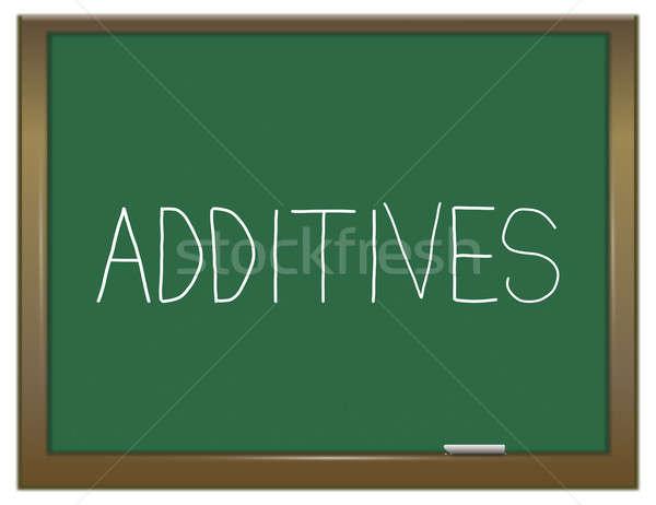 Additives concept. Stock photo © 72soul
