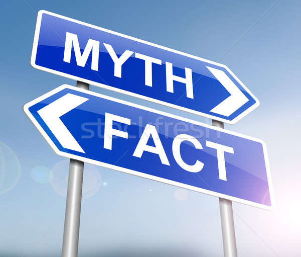 Fact or myth concept. Stock photo © 72soul