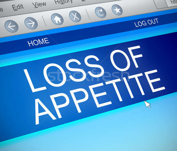 Loss of appetite concept. Stock photo © 72soul