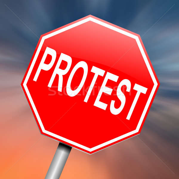 Protest concept. Stock photo © 72soul