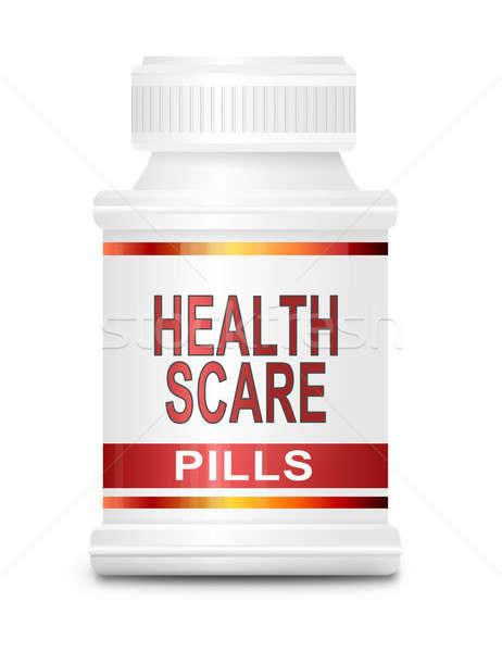Saúde ilustração medicina recipiente médico fundo Foto stock © 72soul