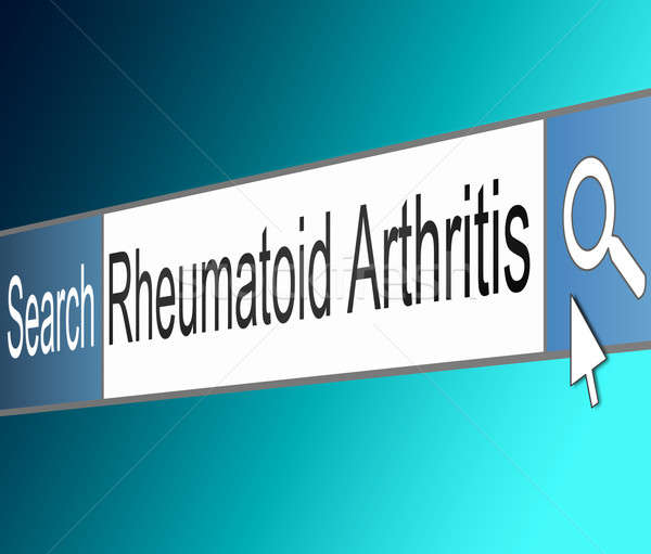 Rheumatoid Arthritis concept. Stock photo © 72soul
