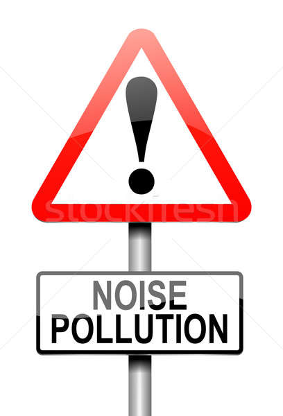 Noise pollution concept. Stock photo © 72soul