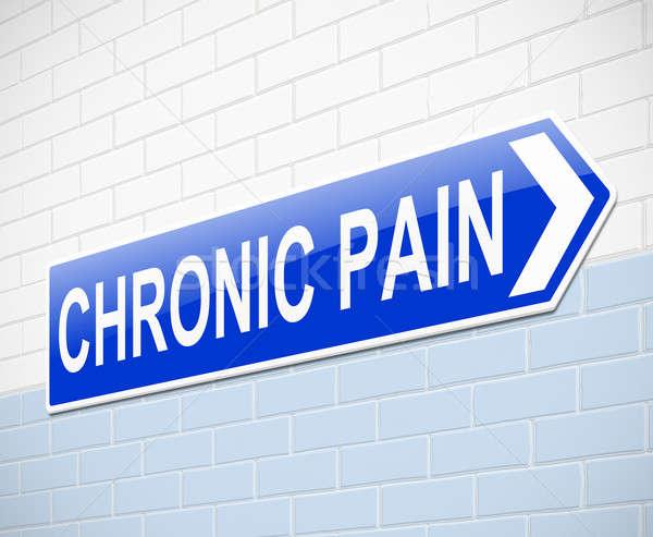Chronic pain concept. Stock photo © 72soul