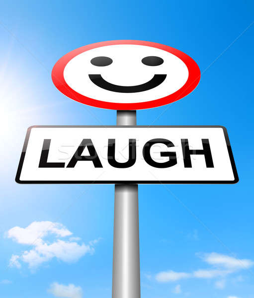 Laughter concept. Stock photo © 72soul