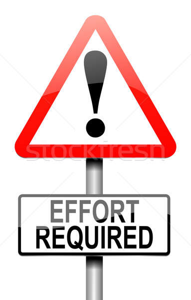 Effort required concept. Stock photo © 72soul