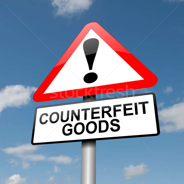 Counterfeit goods concept. Stock photo © 72soul