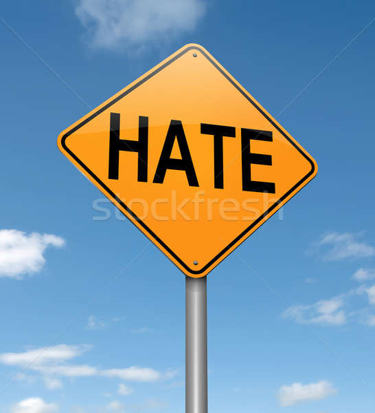 Hate concept. Stock photo © 72soul