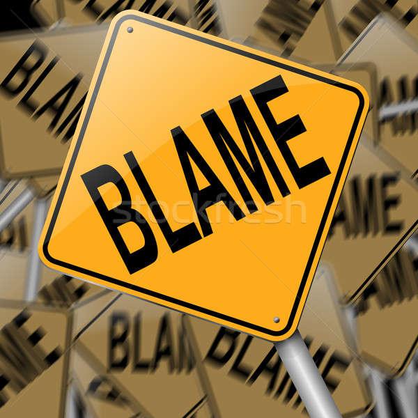 Blame concept. Stock photo © 72soul