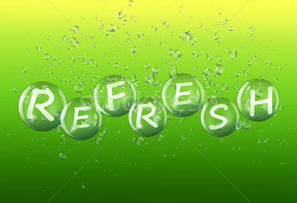 Refresh concept. Stock photo © 72soul